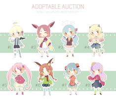 ADOPTABLE AUCTION 02-18 |OPEN| by saruyouichi