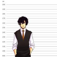 GT: Height Chart by taiwonton