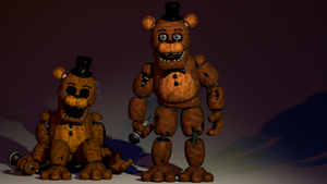 [FNAF2 SFM] The Broken Bears by Delirious411