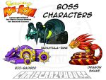 Canary Kaboom Bosses by chriscrazyhouse