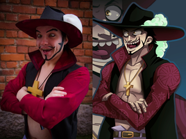 Hapsu Cosplay - Cross eyes Mihawk by Hapsu-cosplay
