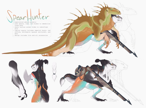 [Auction] Spear Hunter Irie by Nhyra