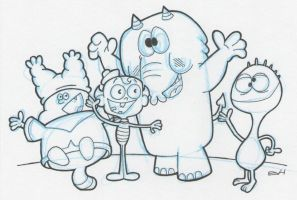 Cartoon Network Characters by vonholdt