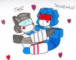 Soundwave and Jazz by PurrV