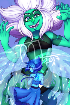 Print- Malachite by Little-Noko