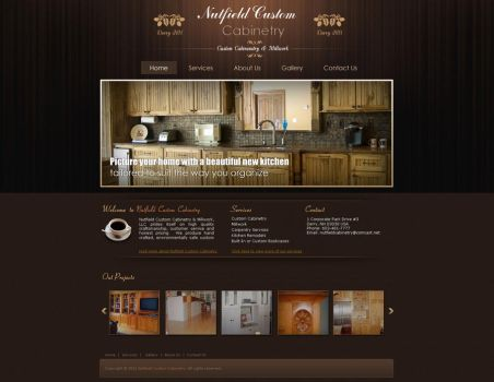 web design by Malaw