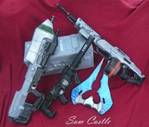 HALO Nerf Collection by Sam-Castle