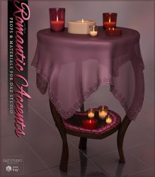 Romantic Accents Props by cosmosue