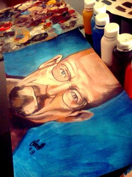Walter White process Breaking Bad by Thevioletsoul