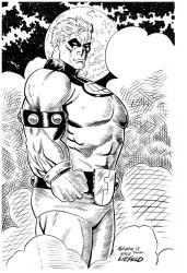 Fist of Justice/Liefeld Style by Morgan Welborn by frankdawsonjr