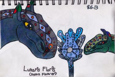 Moon Flower and Lunar Guardians by HPfangirl9177