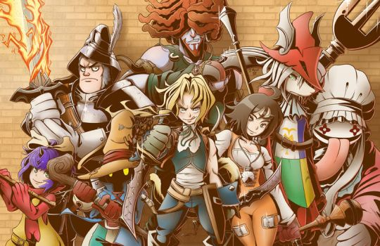 Final Fantasy IX - You're Not Alone by kentaropjj