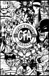Comic and Figure Addicts poster 2 by BigRob1031