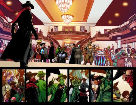 Eman MasksII 01 Page20-21 Color Adriano Augusto by adrianocastro