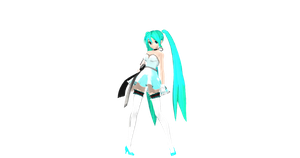 MMD: DT Lilium Miku DL (Now Available) by AED1234PD