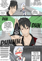RWBY:Qrow the TrollMaster (with winter as always) by nuricombat