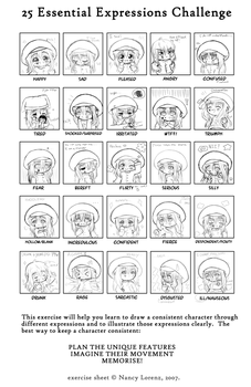 25 Essential Expressions by ChibiDynamite