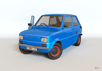 Fiat 126 Render by Absork