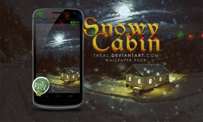 On the go: Snowy Cabin by TheAL