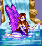 Water Fairy by CoffeeEatsBunny