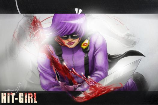 Hit-Girl by SyedJeem