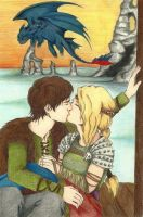 HTTYD: Hiccup and Astrid by mlatimerridley