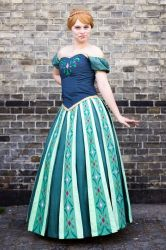 Cosplay - Anna - Frozen by Lulle313
