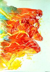 The Flash by Dovah-del-Norte