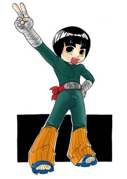 Chibi Rock Lee by thisisevermore
