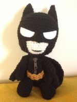 Batman Sackboy by Goldenjellybean