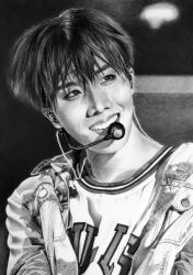 J-Hope of BTS, Bangtan Boys, KPOP by Mim78