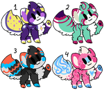 Cat Adoptables (CLOSED) by TASS3L