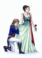 Napoleon and Josephine by angelajordan