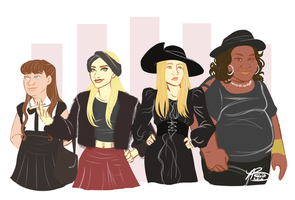 Coven by naomimakesart