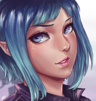 New face by abysskai