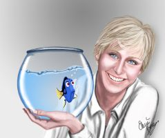 Ellen and Dory by Sondim