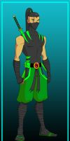 TTOC- The Gecko (Young Justice Style) by Skele