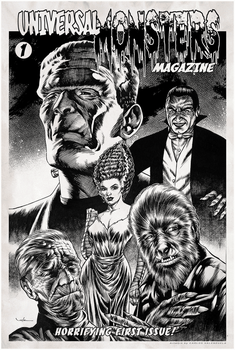 Universal Monsters by Valzonline