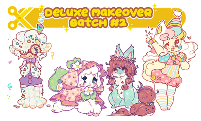 Deluxe Makeover - Batch #2 by plushpon