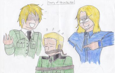 APH-Treaty of Versailles 1919 by Nintendraw