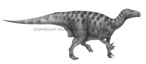 Iguanodon bernissartensis 2 by T-PEKC