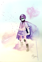 Hit-Girl greets you. by TwinDrops