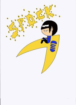 Spock Chibi COLORED by FoilFaerie