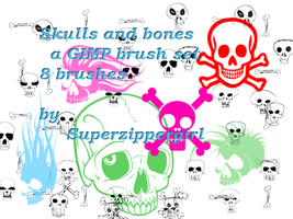 Skulls and Bones by superzippergirl