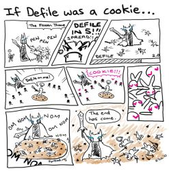 WoW: If Defile was a cookie... by llifi-kei