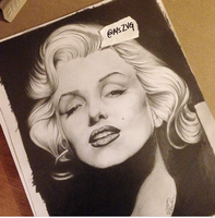 Marilyn Monroe by MsZVG