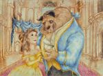 Bella y Bestia/Beauty and The Beast by vegetanivel2