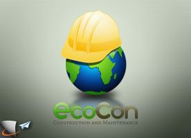 EcoCon construction logo by Infoworks