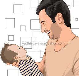 happiness of a father by yudhiecavalera