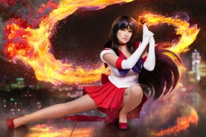 Sailor Moon - Sailor Mars cosplay by UltraCosplay